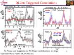 di jets triggered correlations1