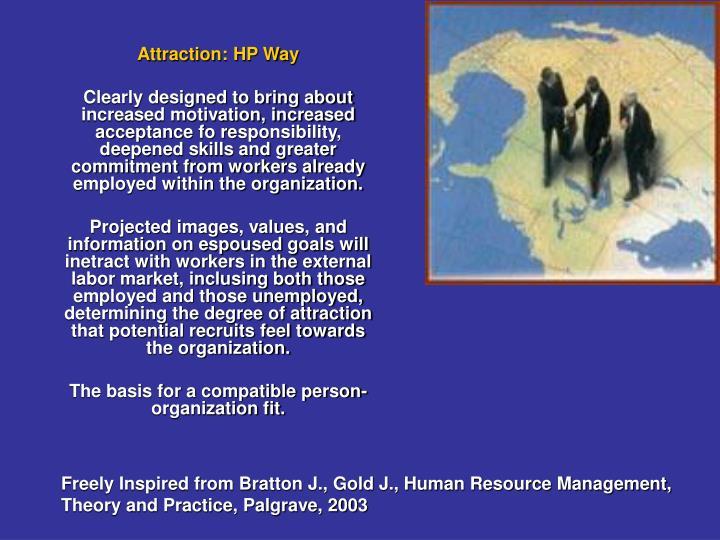 Attraction: HP Way