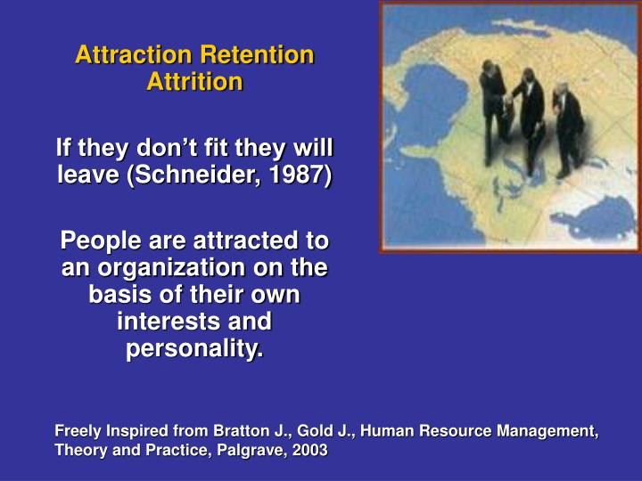 Attraction Retention Attrition
