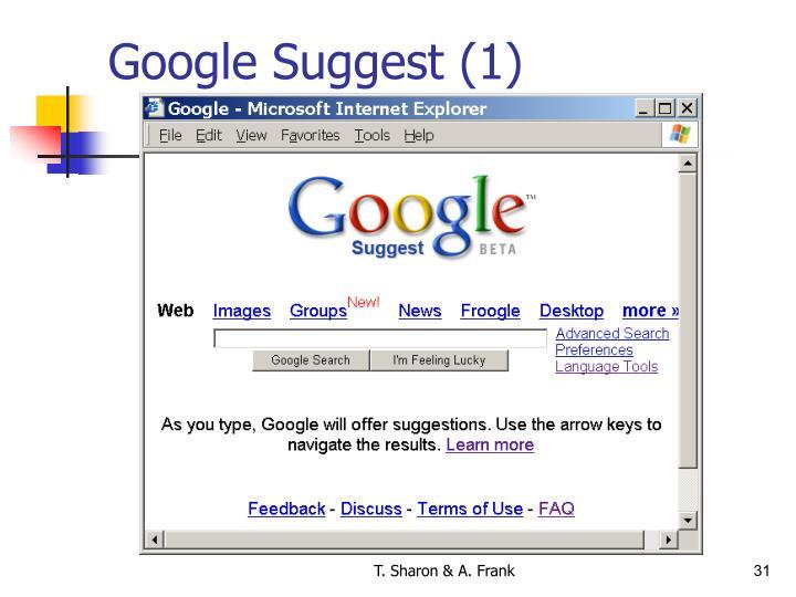 Google Suggest (1)