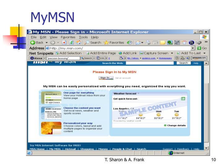 MyMSN