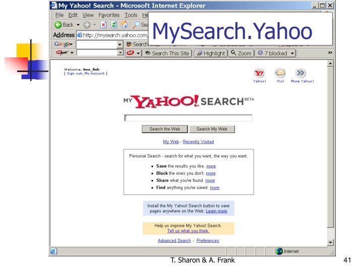 MySearch.Yahoo