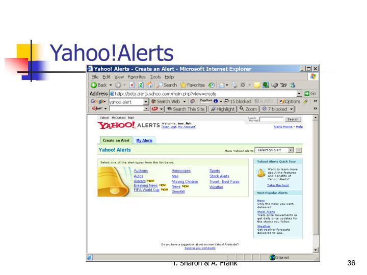Yahoo!Alerts