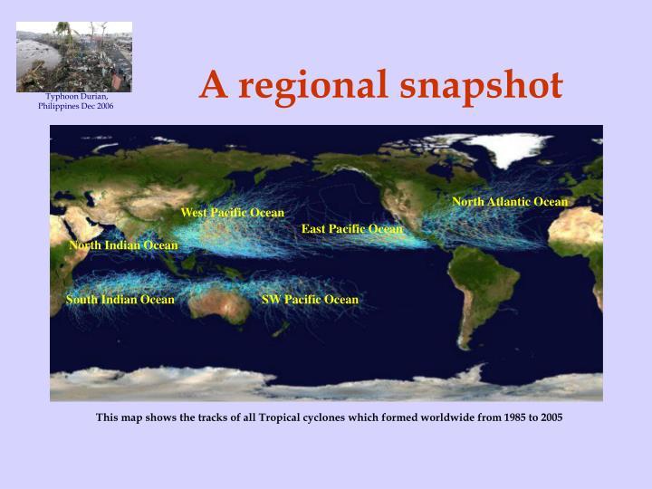 A regional snapshot