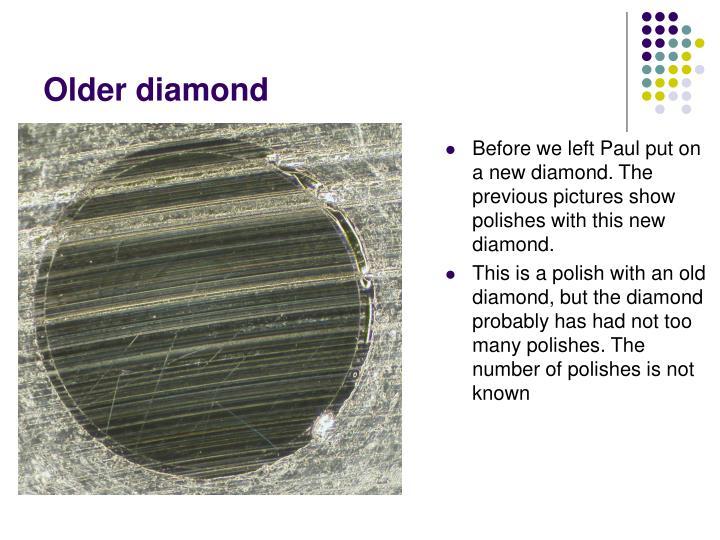 Older diamond