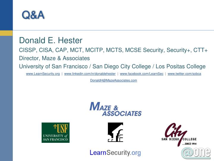 Donald E. Hester