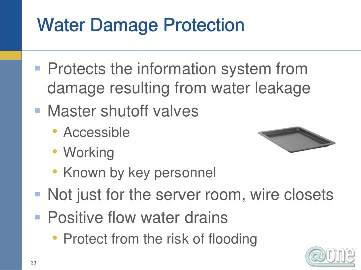 Water Damage Protection