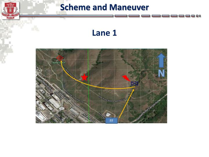 Scheme and Maneuver