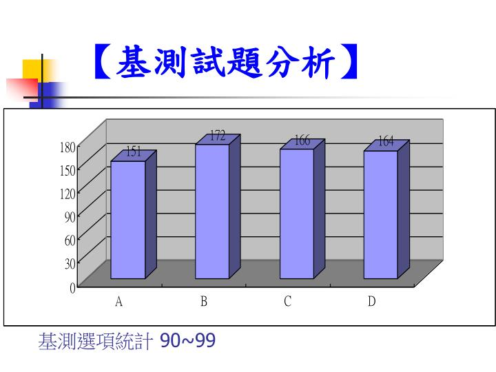 基測選項統計