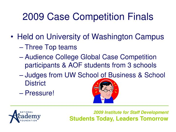 2009 Case Competition Finals