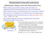 electromotive force emf and circuit1