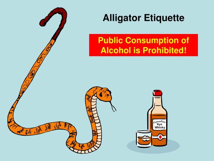 Alligator Etiquette
