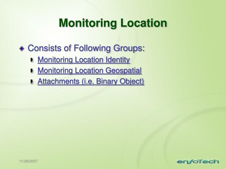 Monitoring Location