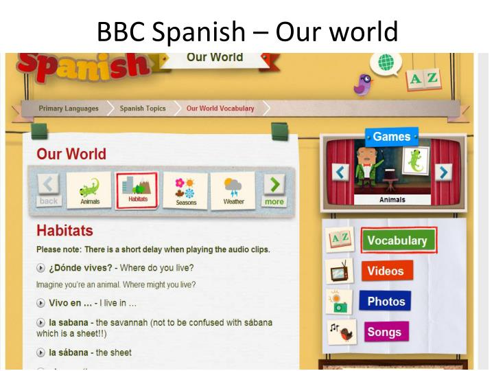 BBC Spanish – Our world