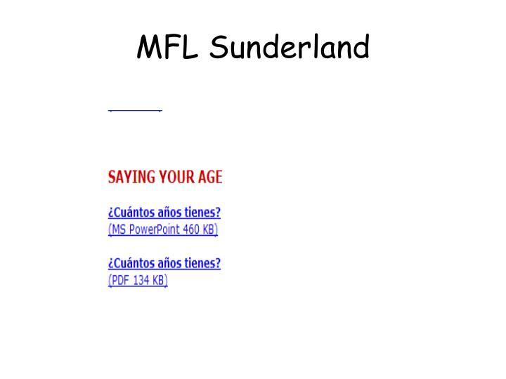 MFL Sunderland