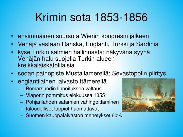 Krimin sota 1853-1856