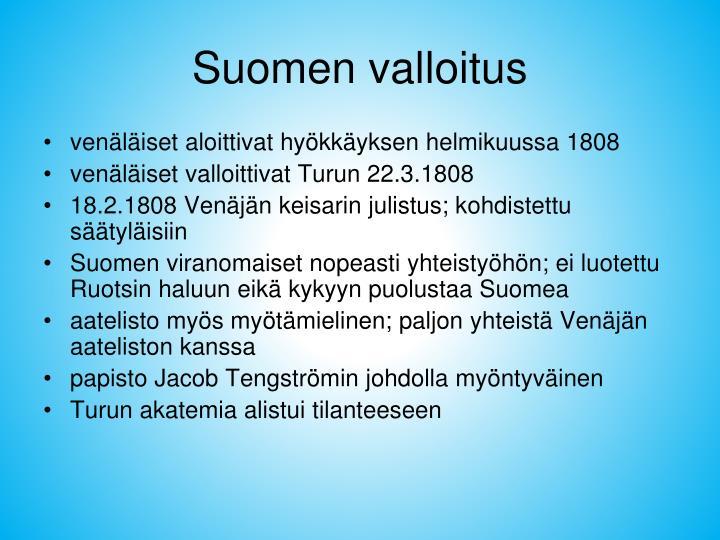 Suomen valloitus