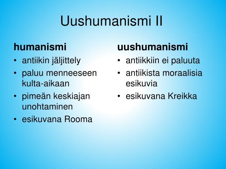 humanismi
