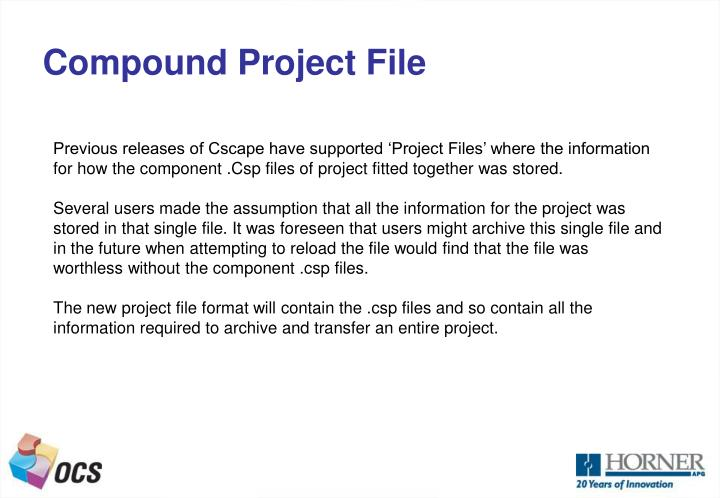 Compound Project File