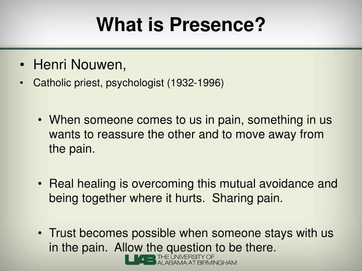 What is Presence?