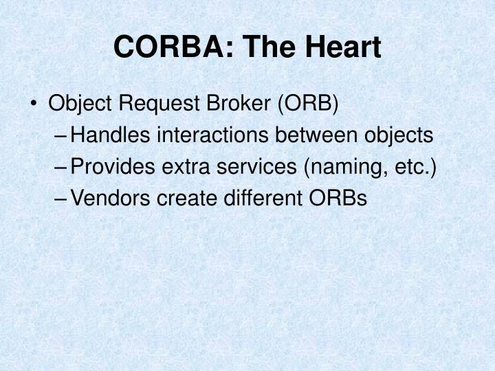 CORBA: The Heart