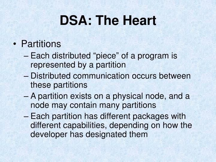 DSA: The Heart