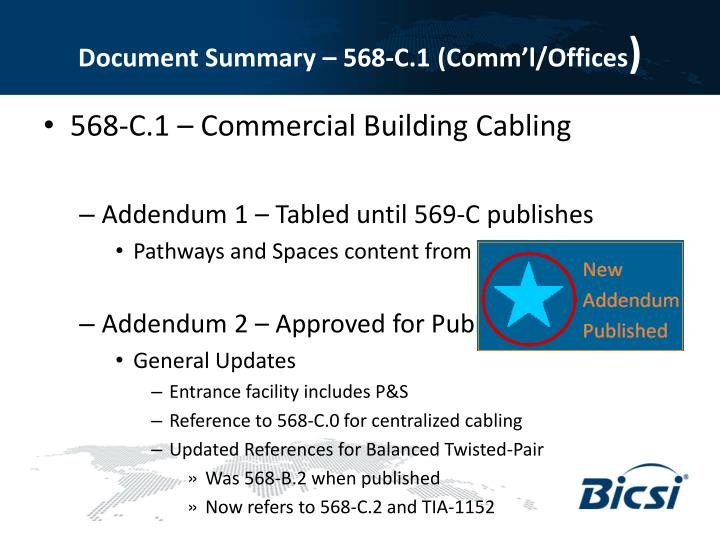 Document Summary – 568-C.1 (Comm'l/Offices