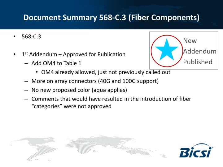 Document Summary 568-C.3 (Fiber Components)