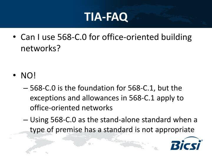 TIA-FAQ