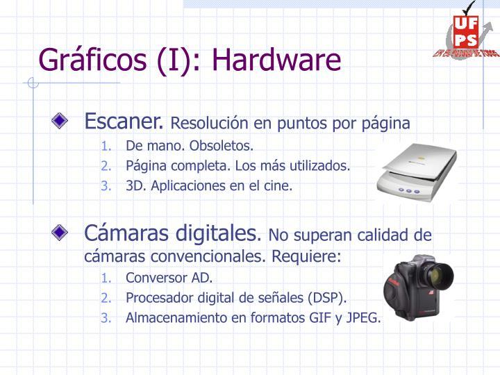 Gráficos (I): Hardware