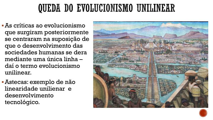 Queda do evolucionismo