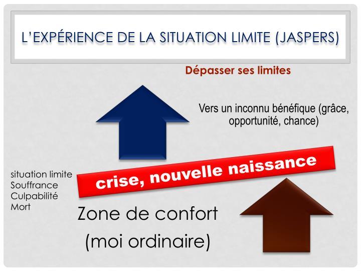 L'expérience de la situation limite (