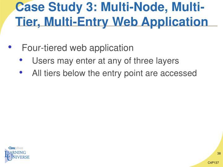 Case Study 3: Multi-Node, Multi-Tier, Multi-Entry Web Application