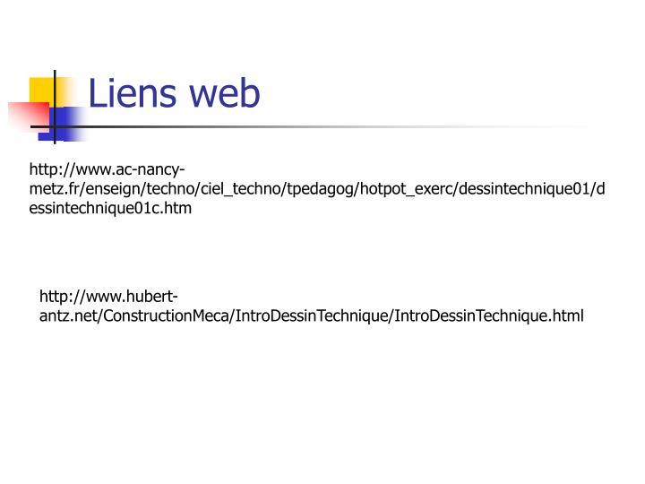 Liens web