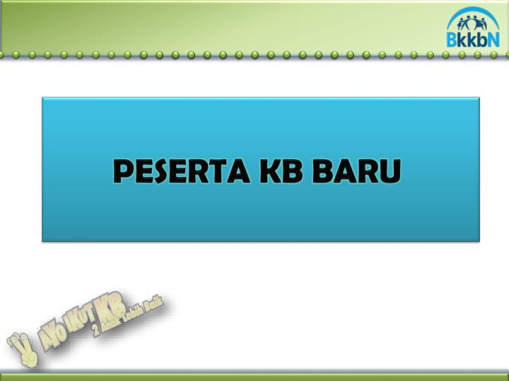 PESERTA KB BARU
