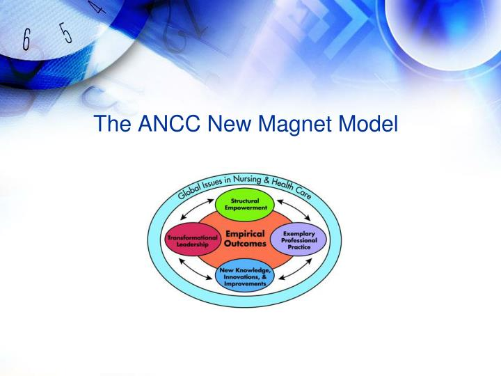 The ANCC New Magnet Model