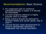 recommendations basic science