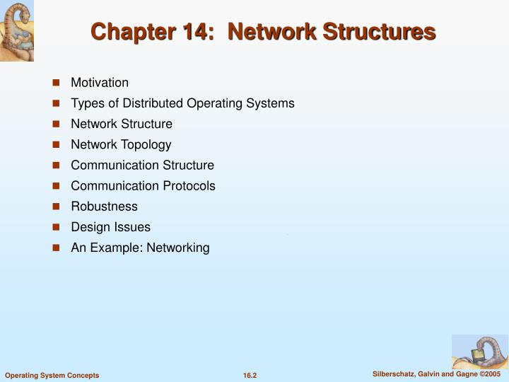 Chapter 14 network structures