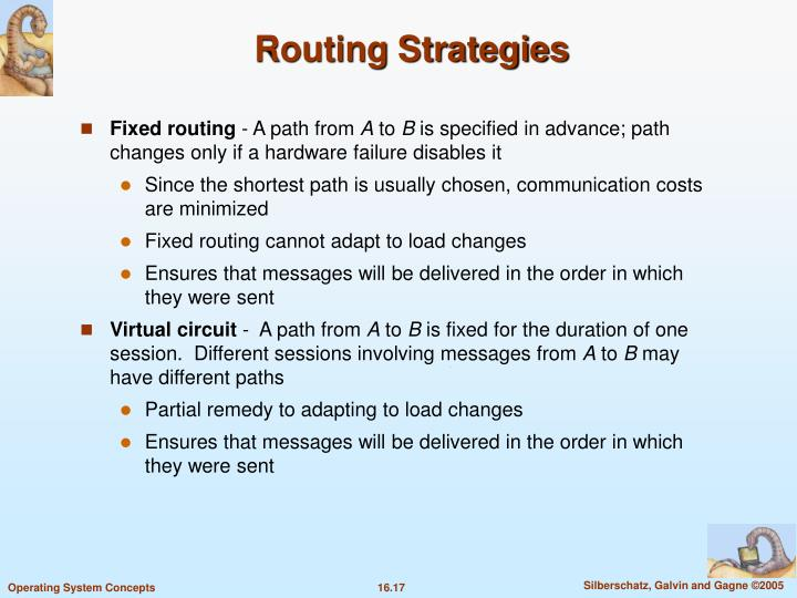 Routing Strategies