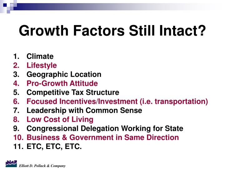 Growth Factors Still Intact?