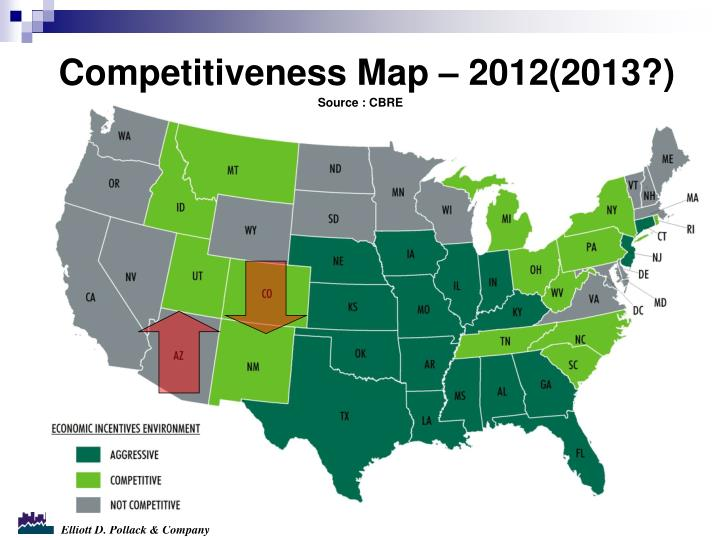 Competitiveness Map – 2012(2013?)
