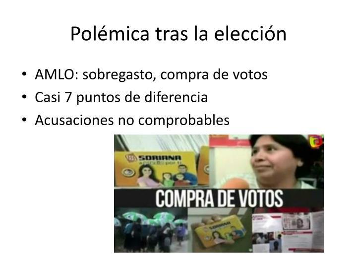 Polémica tras la elección