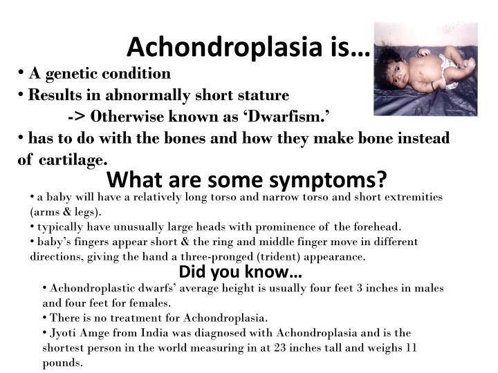 Achondroplasia is…