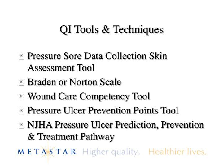 QI Tools & Techniques