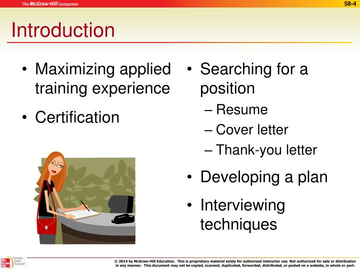 Maximizing applied training experience