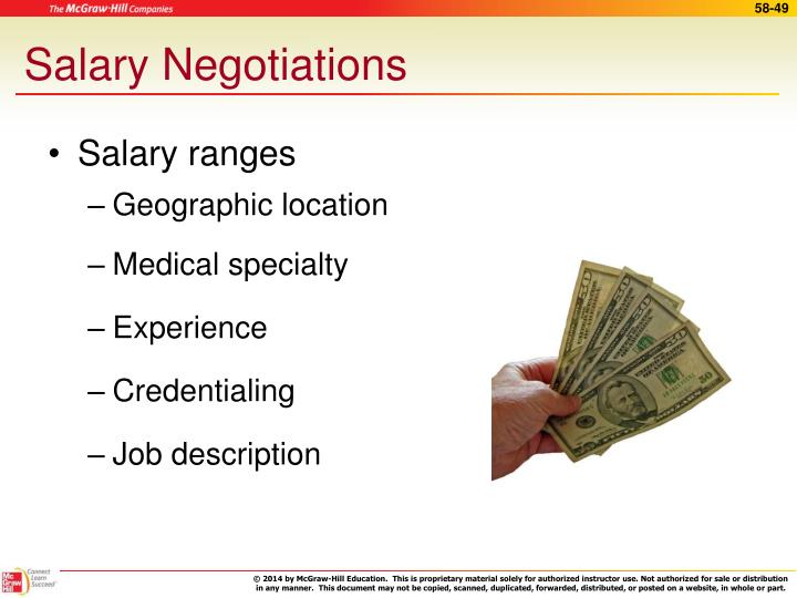Salary Negotiations