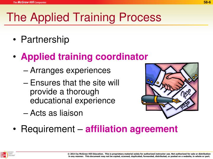 The Applied Training Process