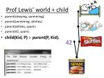 prof lewis world child