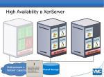 high availability xenserver