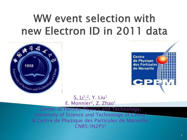Ww event selection with new electron id in 2011 data